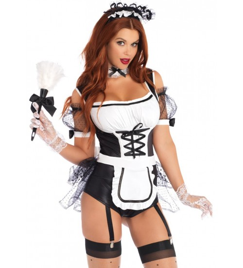 Merry Maid Sexy Womens Halloween Costume at Fetish Fashions,  Fetish Wear | Fetishwear in Leather Latex, Rubber, Bondage Clothing and Sky High Heels