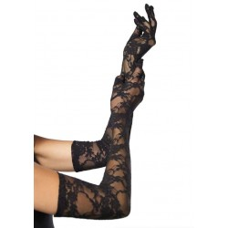 Elegant Black Lace Opera Gloves Fetish Fashions  Fetish Wear | Fetishwear in Leather Latex, Rubber, Bondage Clothing and Sky High Heels
