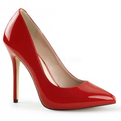 Amuse Red 5 Inch High Heel Pump Fetish Fashions  Fetish Wear   Fetishwear in Leather Latex, Rubber, Bondage Clothing and Sky High Heels