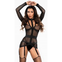 Untamed Heart Black Bustier