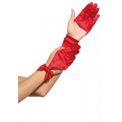 Satin Cut Out Gloves Fetish Fashions  Fetish Wear   Fetishwear in Leather Latex, Rubber, Bondage Clothing and Sky High Heels