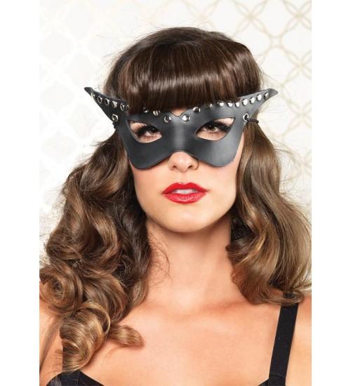 Bad Girl Studded Mask at Fetish Fashions,  Fetish Wear | Fetishwear in Leather Latex, Rubber, Bondage Clothing and Sky High Heels