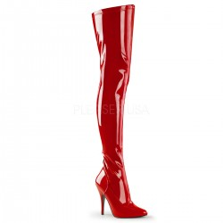 Seduce Red High Heel Thigh High Boots Fetish Fashions  Fetish Wear   Fetishwear in Leather Latex, Rubber, Bondage Clothing and Sky High Heels