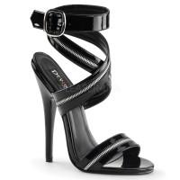 Zippered Domina High Heel Sandal