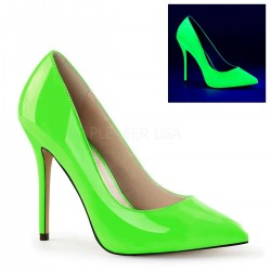 Amuse Neon Green 5 Inch High Heel Pump Fetish Fashions  Fetish Wear | Fetishwear in Leather Latex, Rubber, Bondage Clothing and Sky High Heels