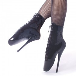 Ballet Lace Up Extreme Granny Boots Fetish Fashions  Fetish Wear | Fetishwear in Leather Latex, Rubber, Bondage Clothing and Sky High Heels