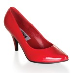 Red Classic Pump 420 with 3 Inch Heel